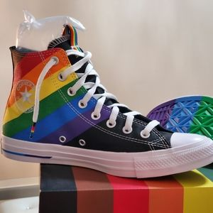 New Converse Pride Limited Edition Unisex Sz 10/12